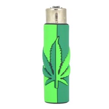Clipper Lighter - Mirror Leaf Cover