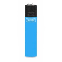 Clipper Lighter - Solid Fluo Blue