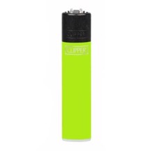 Clipper Lighter - Solid Fluo Green