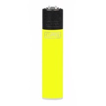 Clipper Lighter - Solid Fluo Yellow