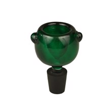 Rubber Socket - Green Glass Bowl
