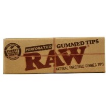 RAW - Gummed Tips Perforated