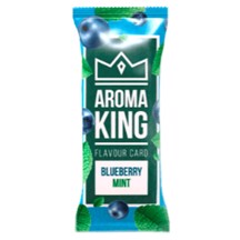 Aroma King - Blueberry Mint Flavour Card