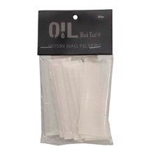 Black Leaf - Oil Rosin Filter Bag (S) 80 x 30 mm