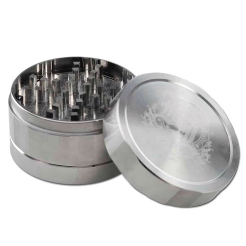 Black Leaf - Stainless Steel Grinder 3-Part Ø59