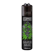 Clipper Lighter - Silver Haze