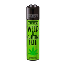 Clipper Lighter - Weed Is Gluten Free