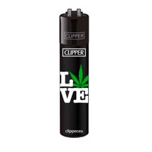Clipper Lighter - Weed Love