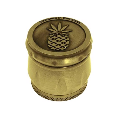 Embossed - Pineapple Express Guld Ø40