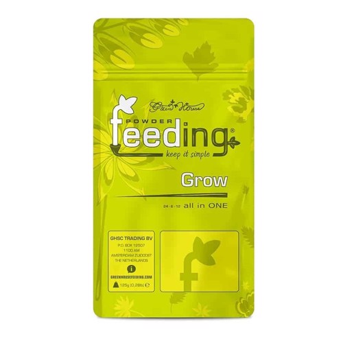 Green House Powder Feeding - Grow 125g
