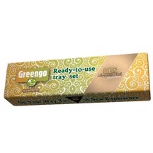 Greengo - Tray Set m/ Brown Filtertips