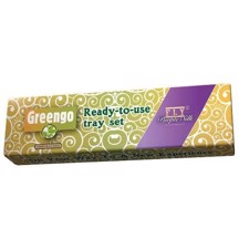 Greengo - Tray Set m/ Purple Filtertips