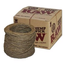 RAW - Hemp Wick 30,5 m