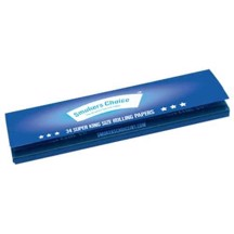 Smokers Choice - Rolling Papers Nordic Blue Super King Size