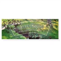 Smokers Choice - Sticker Bridge In The Woods