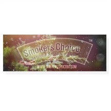Smokers Choice - Sticker Snow In The Woods