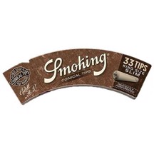 Smoking - Conical Tips Brown King Size Slim