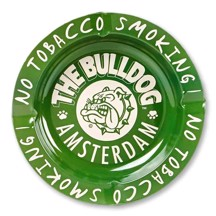 The Bulldog Amsterdam - Grøn Askebæger