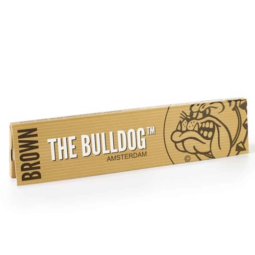 The Bulldog - Brown King Size Slim