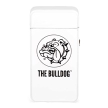 The Bulldog - Plasma Lighter Hvid